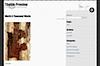 Example of the 'SH Trocadero' WordPress theme with image