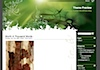 """Example of images in the """"Green Light"""" WordPress theme"""