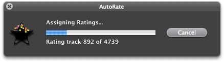 AutoRate screenshot