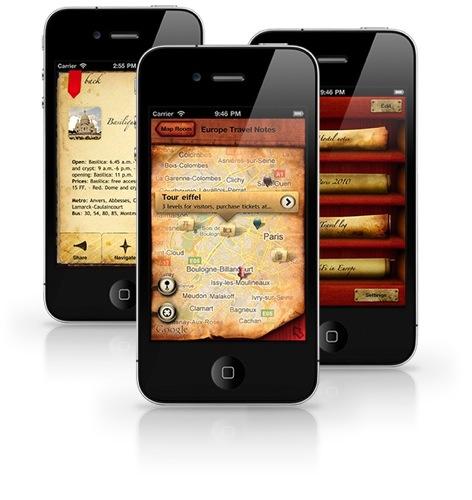 The Cartographer iPhone App Google Maps