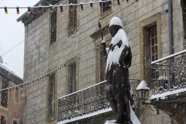 Snow in Alet